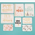 Набор карточек для скрапбукинга «Тёплые объятия», 10 × 10,5 см