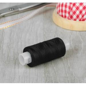 Нитки швейные универсальные 45ЛЛ, 200 м, цвет черный