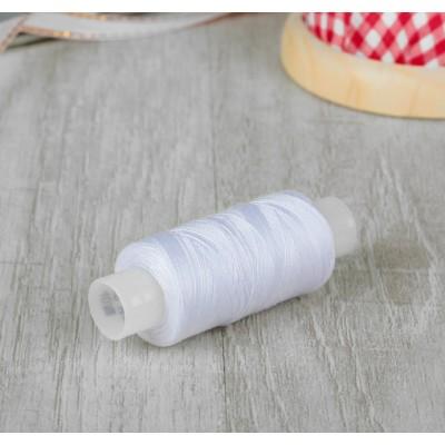 Нитки швейные универсальные 40ЛШ, 200 м, цвет белый