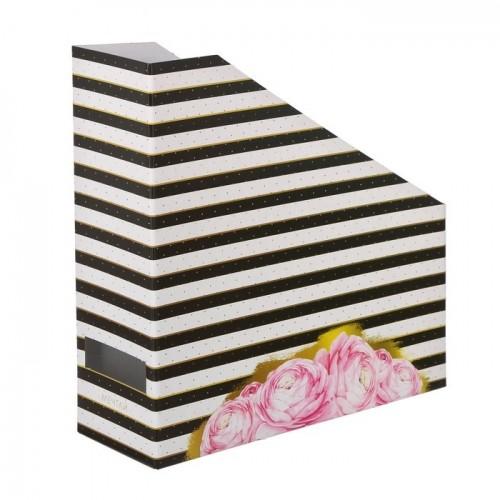 Органайзер под бумагу для скрапбукинга Цветочная фантазия, 31 х 31 х 9,5 см