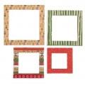 Рамочки декоративные с фольгированием «Однажды в сказке», 8 × 11 см