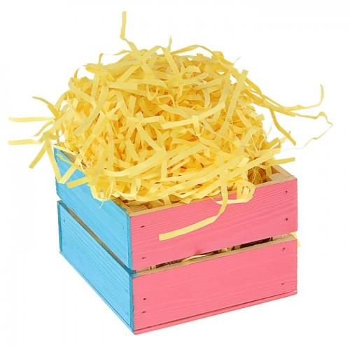 Бумажная стружка, цвет желтый, 50 гр