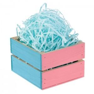 Бумажная стружка, цвет голубой, 50 гр