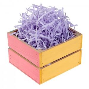 Бумажная стружка, цвет фиолетовый, 50 гр