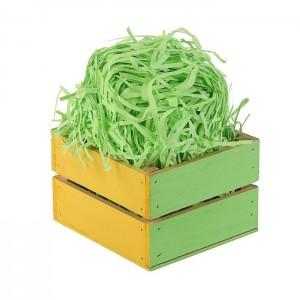 Бумажная стружка, цвет салатовый, 50 гр