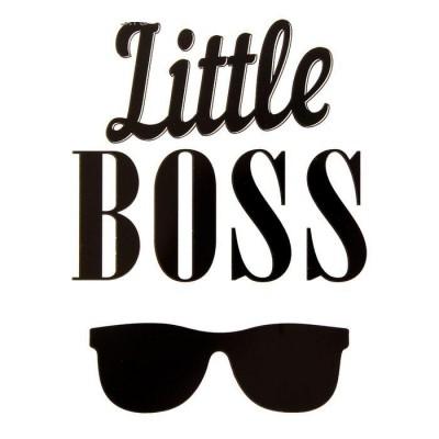 Термонаклейка Little Boss, 12 х 9 см