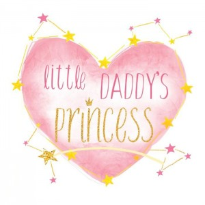 "Термонаклейка ""Daddy's princess"", 12 х 14 см"