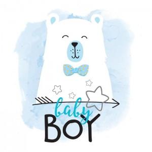 "Термонаклейка ""Baby Boy"", 12 х 14 см"