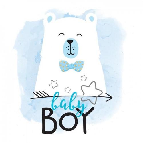 Термонаклейка Baby Boy, 12 х 14 см