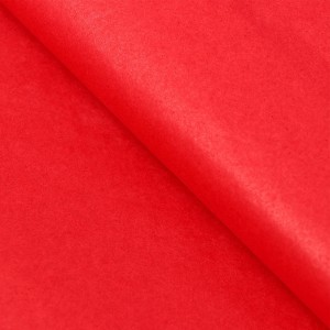 Бумага упаковочная тишью, цвет красный, 50 см х 66 см, 1 шт