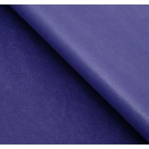 Бумага упаковочная тишью, цвет темно-сиреневый, 50 см х 66 см, 1 шт