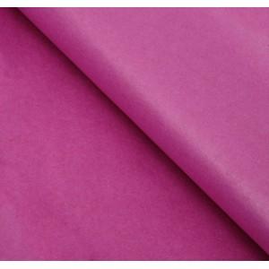 Бумага упаковочная тишью, цвет розово-малиновый, 50 см х 66 см, 1 шт