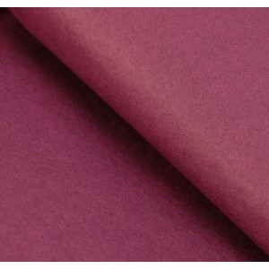 Бумага упаковочная тишью, цвет бордовый, 50 см х 66 см, 1 шт