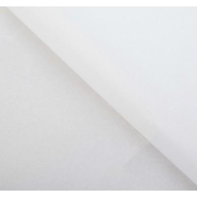 Бумага упаковочная тишью, цвет белый, 50 см х 66 см, 1 шт