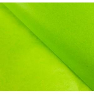 Бумага упаковочная тишью, цвет зеленое яблоко, 50 см х 66 см, 1 шт