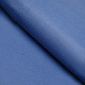 Бумага упаковочная тишью, цвет синий, 50 см х 66 см, 1 шт