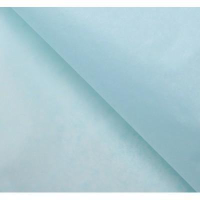 Бумага упаковочная тишью, цвет голубой, 50 см х 66 см, 1 шт