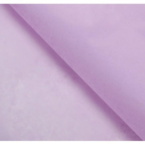 Бумага упаковочная тишью, цвет сиреневый, 50 см х 66 см, 1 уп (10 шт)