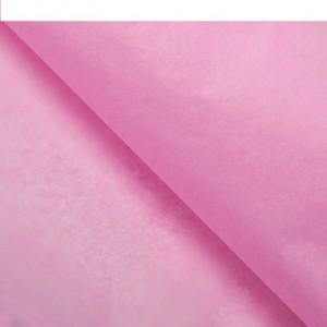 Бумага упаковочная тишью, цвет розово-сиреневый, 50 см х 66 см, 1 шт