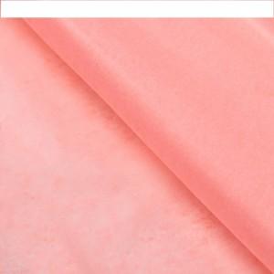 Бумага упаковочная тишью, цвет розовый, 50 см х 66 см, 1 шт