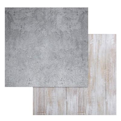 Фотофон двусторонний «Доски-бетон», 45 × 45 см, переплётный картон, 980 г/м