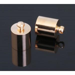 Шапочка для кисточки, цвет золото, 7 мм, 1 шт
