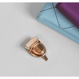 Застёжка металлическая, 3 × 2 см, цвет золото