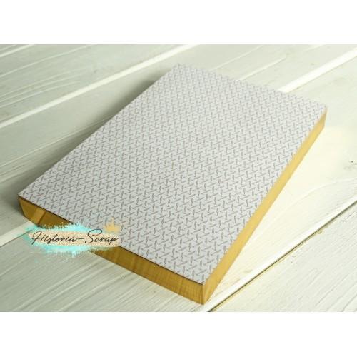Блок с золотым срезом для ежедневника Шедевры мировой архитектуры, 320 листов, А6, плотность 80 г/м2