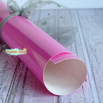 Винил, цвет глянцевый розовый, 20х25 см