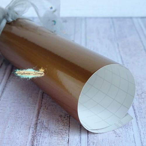 Винил, цвет глянцевый медный, 20х25 см