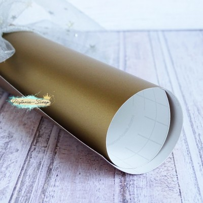 Винил, цвет матовое золото, 20х25 см