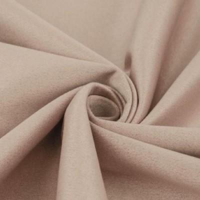 Замша искусственная, цвет песочный, 4 х 4 см