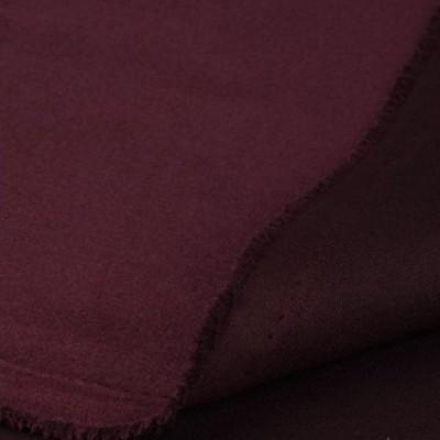 Замша искусственная, цвет марсала, 4 х 4 см