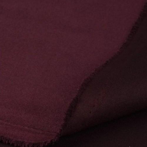 Замша искусственная, цвет марсала, 30*50 см