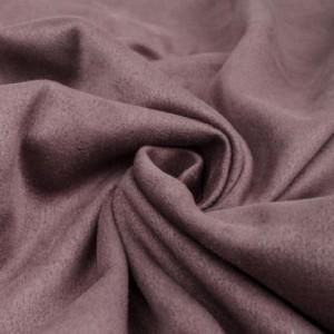 Замша искусственная, цвет темно-сиреневый, 35*50 см