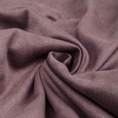 Замша искусственная, цвет темно-сиреневый, 4 х 4 см