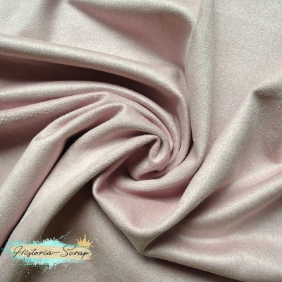 Замша искусственная, цвет пепельно-розовый, 5 х 9 см