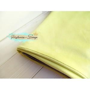 Замша искусственная, цвет светло-желтый, 30*25 см