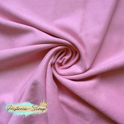Замша искусственная, цвет светло-розовый, 4 х 4 см