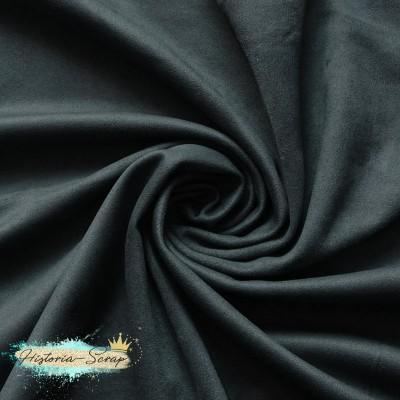 Замша искусственная, цвет серый, 4 х 4 см
