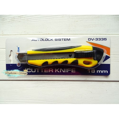 Нож канцелярский Darvish 18мм с металлическими направляющими
