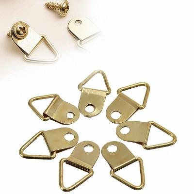 Крючки металлические, 2,1см, цвет золото, 2 шт