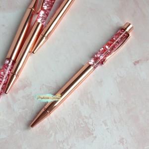 """Ручка шариковая """"Premium Aqua"""", цвет розовое золото"""