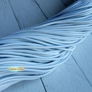 Резинка шляпная, цвет белый, 2,8 мм