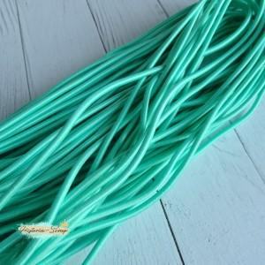 Резинка шляпная, цвет мятный, 2,8 мм