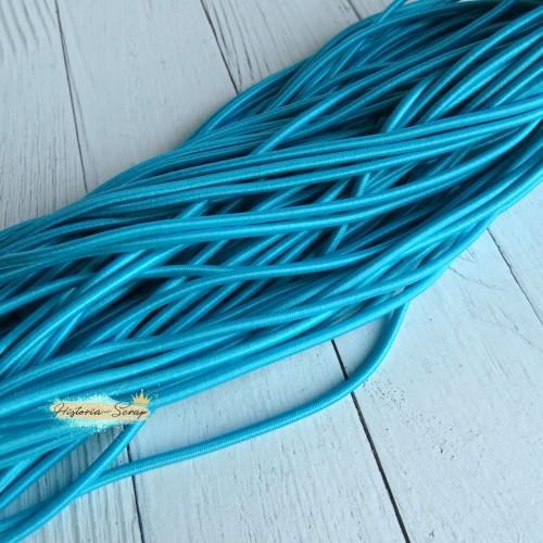 Резинка шляпная, цвет голубое озеро, 2,8 мм