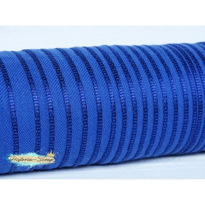 Каптал вискозный, цвет синий, 12 мм, 81 см (остаток)
