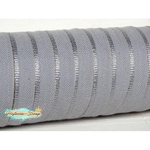 Каптал вискозный, цвет серебристый, 12 мм