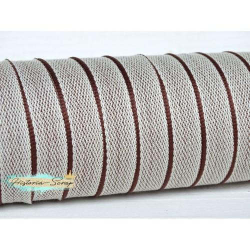 Каптал ПЭТ с коричневой  окантовкой, 16 мм, 61 см (остаток)