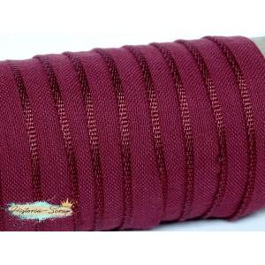 Каптал вискозный, цвет бордовый, 12 мм